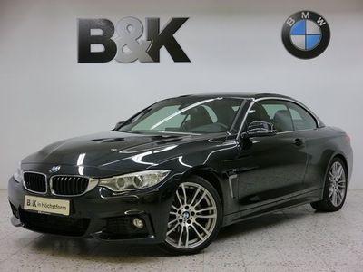 gebraucht BMW 420 d Cabrio M Sportpaket (Navi Xenon Leder Klima Einp