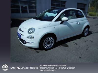 gebraucht Fiat 500 1.2 8V Start&Stop Lounge*Navi*Glasdach*DABuvm