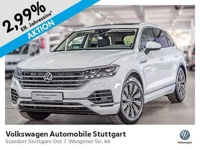 gebraucht VW Touareg 3.0 TDI V6 Navi LED Matrix ACC AHK Pano