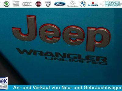 gebraucht Jeep Wrangler Unlimited Sahara Wunschkonfiguration 2.0 4xe Plug-In Hybrid 280KW (380PS)