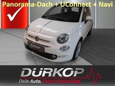 gebraucht Fiat 500 Lounge 1.2 8V PDC/Navi/UConnect/Panorama-Dach/Klimaautom