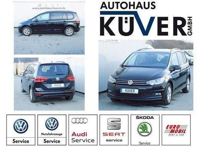 gebraucht VW Touran 1,4 TSI Comfortline DSG Navi SHZ 7-Sitze