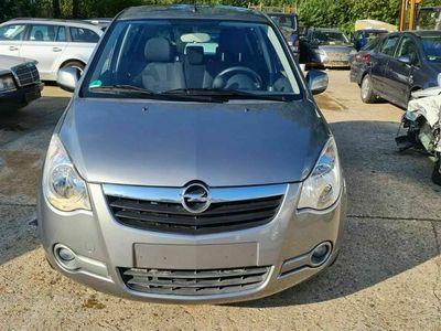 gebraucht Opel Agila B Edition 71Tkm Klima 1Hand Scheckheft ALU
