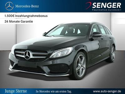 gebraucht Mercedes C200 4MATIC T-Modell Park-Assist AMG AMG line