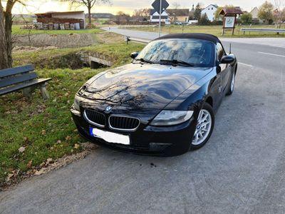gebraucht BMW Z4 E85 roadster 2.0i Facelift schwarz Vollleder als Cabrio/Roadster in Röttenbach