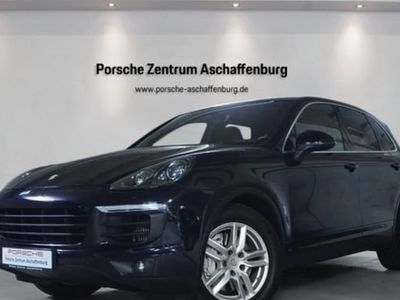 gebraucht Porsche Cayenne S Luftfed Navimod ParkAssist PDLSschwarz
