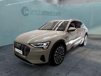 gebraucht Audi E-Tron eTron55 q. Matrix/Sitzbel+Mass/Pano/HuD/ACC/21