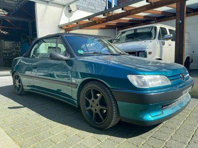 gebraucht Peugeot 306 Cabriolet 1.6 als Cabrio/Roadster in Tönisvorst