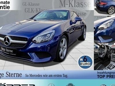 gebraucht Mercedes 200 SLCBlue Edition Automatik Navi LED-ILS Euro 6