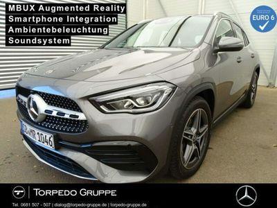 gebraucht Mercedes GLA220 d 4M AMG LED+MBUX+AR+KAMERA+PTS+SHZ+KLIM