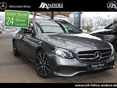 gebraucht Mercedes E200 Avantgarde+LED+Navi+Totw.+Night-P+Kamera
