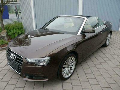 gebraucht Audi A5 Cabriolet 2.0 TFSI * MULTITRONIC * LEDER BEIGE *