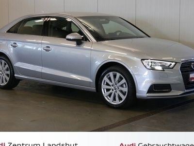 gebraucht Audi A3 Limousine 2.0 TDI Design Navi Teilleder Sitzh.