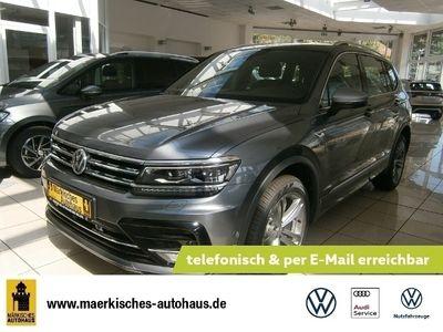 gebraucht VW Tiguan Allspace Highline 4MOTION 2,0 l TDI SCR 140 kW (190 PS) 7-Gang-Doppelkupplungsgetriebe DSG