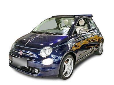 gebraucht Fiat 500C Cabrio Riva NAVI XENON BLLUETOOTH KLIMAAUTOM