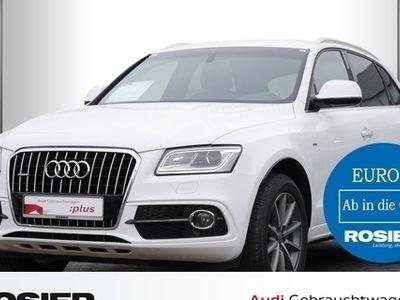 gebraucht Audi Q5 3.0 TDI quattro S-Tronic S-Line Abstandstemp.
