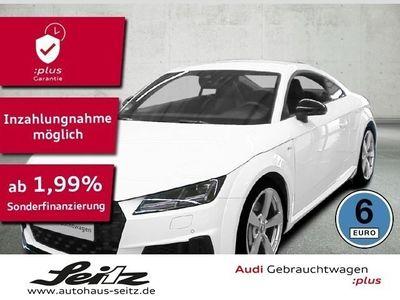 gebraucht Audi TT Coupe 45 TFSI qu S-Line LED*PDC*NAVI