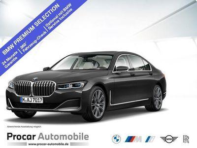 gebraucht BMW 730L d xDrive 20''LM Fond Entertain DA Prof Standh