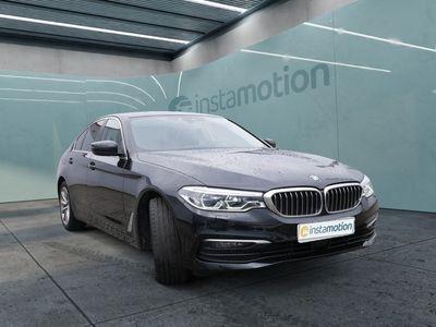 gebraucht BMW 520 520 dA STANDHZ+LEDER+NAVI+HUD+PDC+ACC+MEM