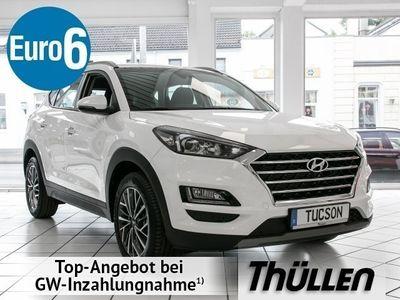 gebraucht Hyundai Tucson Advantage 1.6 T-Benzin 7-DCT Navi Klimaauto