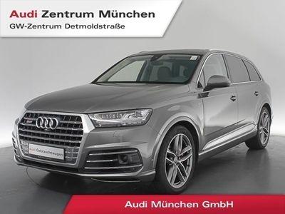 gebraucht Audi SQ7 4.0 TDI qu. HUD Virtual Assistenz Matrix Pano AHK Standhz. BOSE Leder FahrwerkAdvanced tiptronic