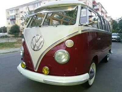 gebraucht VW T1 VwSamba 21win.Original EU type 24 DeLuxe