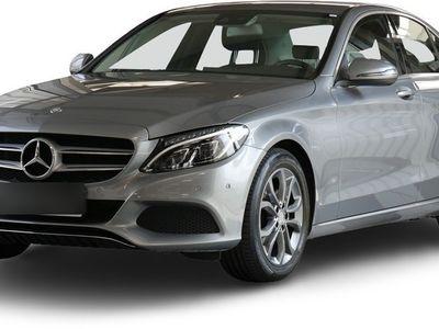 gebraucht Mercedes C200 C 200d Avantgarde LED Navi Totw.-Ass. SHZ Einpa