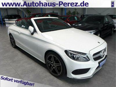 gebraucht Mercedes C300 Cabrio 9-G AMG NAVI-LED-AHK-AMBIENTE-PTS