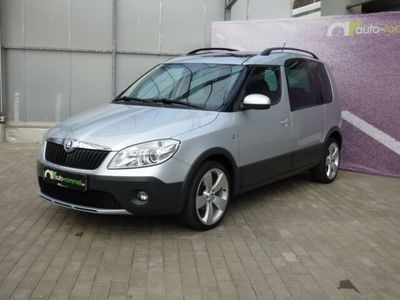 """gebraucht Skoda Roomster Scout Plus Edition Pano 17"""" SH Tempomat"""