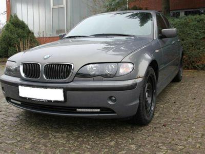 gebraucht BMW 316 i Leder SD,Xenon,8 x bereift, AHK abnb.
