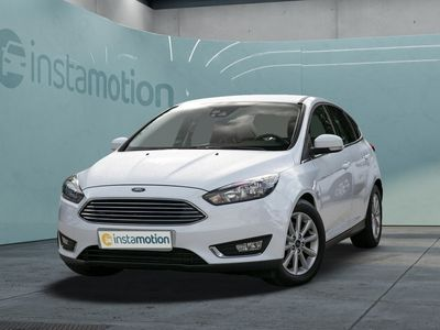 gebraucht Ford Focus FocusTitanium 2.0 TDCi Aut. Navi 1.Hd. LM SHZ