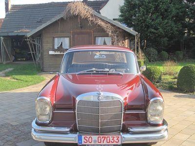 gebraucht Mercedes W111 Ex Mercedes Werkswagen 1965