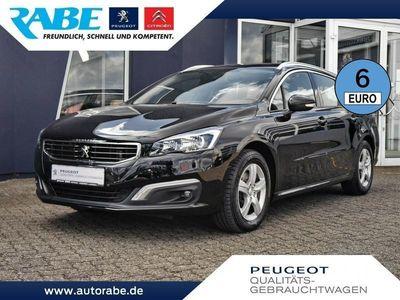 gebraucht Peugeot 508 SW Business 150 BlueHDi Navi+Alu+Tempomat
