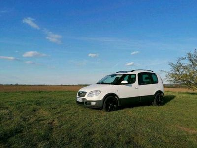 gebraucht Skoda Roomster Scout Panoramadach