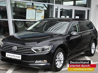 gebraucht VW Passat Variant Comfortline 1.6 TDI BMT schwarz