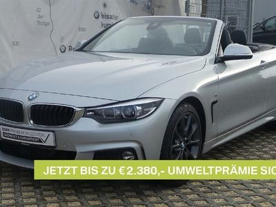gebraucht BMW 420 d A Cabrio M-Sport,Navi,DAB,H&K,LED,Nackwärm,
