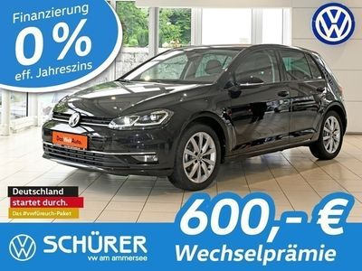 gebraucht VW Golf I Golf VII 2.0TDI DSG Highline LED Navi Kamera Keyless Massagesitz LaneAssist Totw