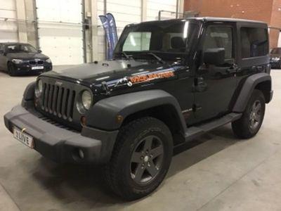 gebraucht Jeep Wrangler Hard-Top 2.8 CRD DPF Automatik Black Edition