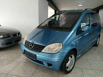 gebraucht Mercedes Vaneo Compact Van 1.9 AHK-abnehmbar Klima CD-W ESP Spieg. beheizbar Kindersitze int.