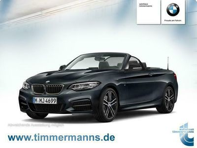 gebraucht BMW M240 xDrive Steptronic Cabrio Navi Prof. PDC