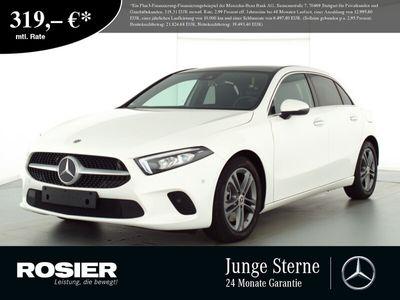 gebraucht Mercedes A250 Progressive LED+ Pano Navi+ MBUX Spur