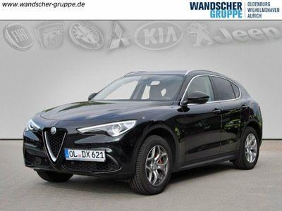 gebraucht Alfa Romeo Stelvio AUTOMATIK LEDER NAVI ALU SPORTPAKET ROTE