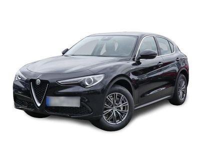 gebraucht Alfa Romeo Stelvio Super Q4 2.0 Turbo Navi Keyless Dyn. Kurvenlicht e-Sitze El. Fondsitzverst.
