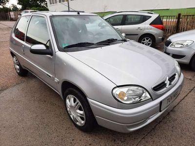 gebraucht Citroën Saxo 1.1 **TÜV NEU** AHK**