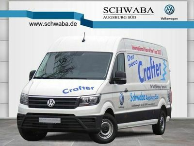 used VW Crafter Kasten LR 2.0 TDI *HOCH*KLIMA*AHK-Vorb.*