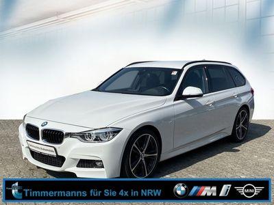 gebraucht BMW 320 d Touring M Sport mit Shadow Line und Leder