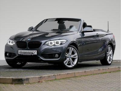 gebraucht BMW 218 2er i Cabrio Sport Line