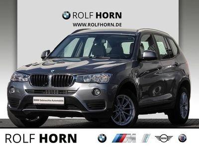 gebraucht BMW X3 xDrive20d Autom. Navi PDC Sitzhzg Leder EURO6
