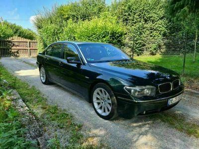 gebraucht BMW 745L i Vollausstattung scheckheftgepflegt