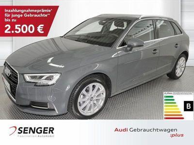 gebraucht Audi A3 Sportback Design 30TFSI Navi Led SHZ S-tronic